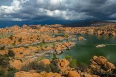 Granite Dells Storm Clouds - 1