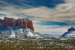 Bell Butte in Snow _DSC3951